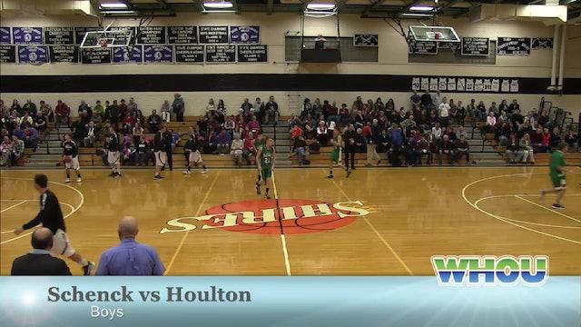 Schenck vs Houlton Boys 12/27/13