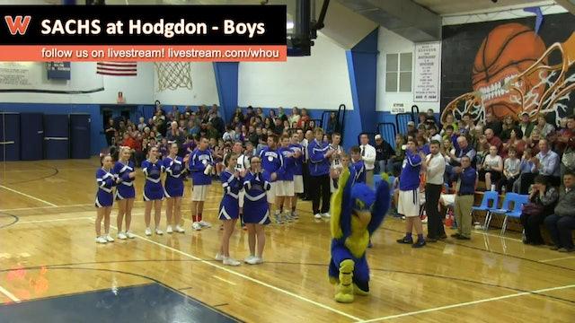 SACHS at Hodgdon - Boys 1/28/2016