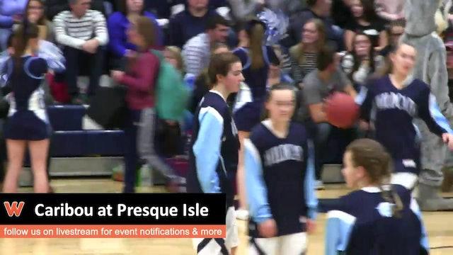 Caribou at Presque Isle - Girls 1/12/16