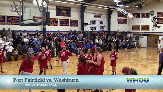 Fort Fairfield vs Washburn Girls 1/7/14 Part 1