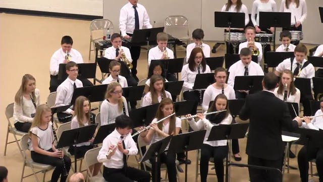 All-Aroostook Middle School Band 2016