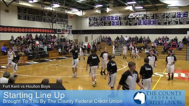 Fort Kent vs Houlton Boys 12-13-14
