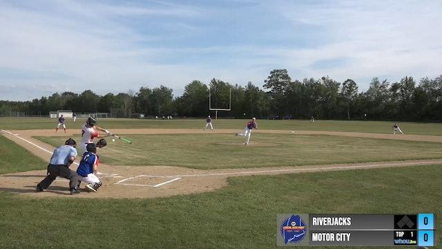 Maine Independent Summer Baseball League - Riverjacks vs Motor City - Part 1