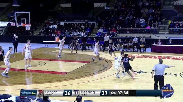 #25 Class AA Boys - South Semi-Finals Bangor vs. Deering - 2/19/20
