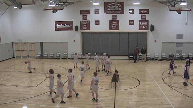 SACHS at Caribou Boys MS Basketball 3...