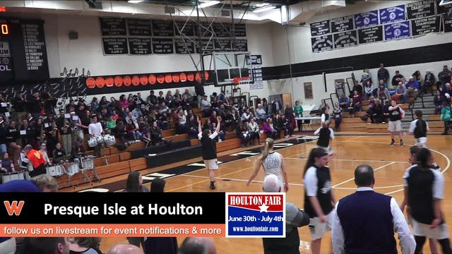 Presque Isle Girls at Houlton 1-31-18