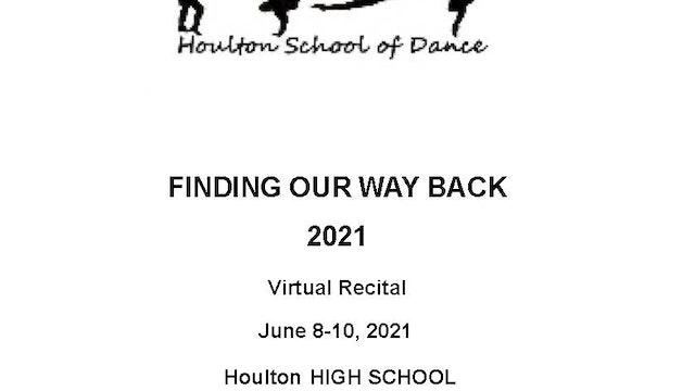 Houlton School of Dance 2021 Recital Program