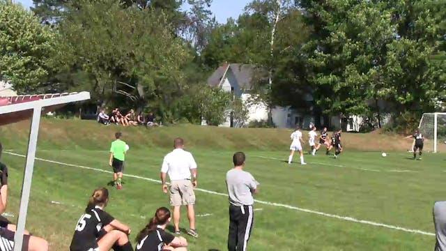 Orono vs. Houlton Girls Soccer 9-19-2015