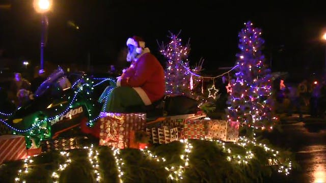 Houlton Holiday Light Parade 2016