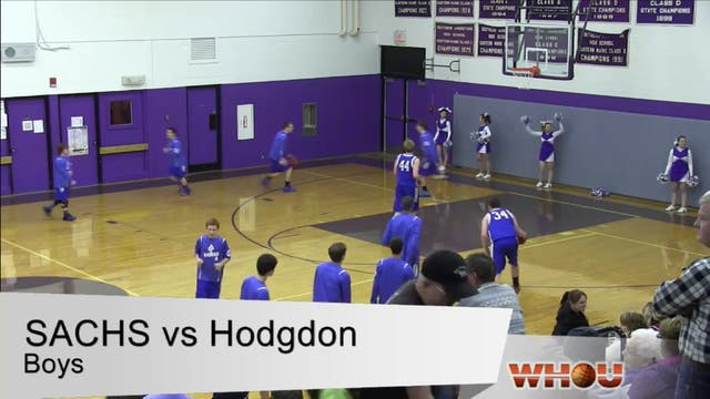 Hodgdon v SACHS Boys 1-2-2014