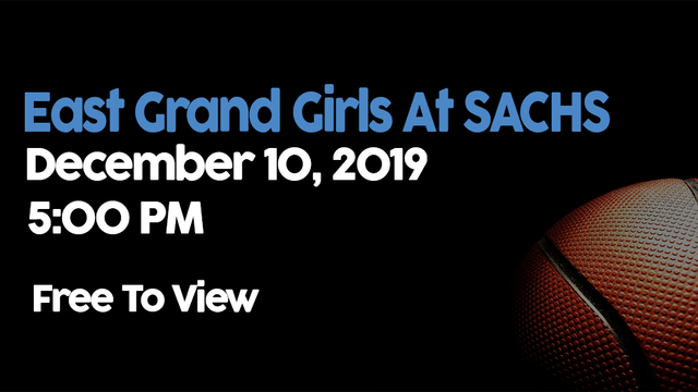 East Grand Girls at SACHS - 12/10/2019