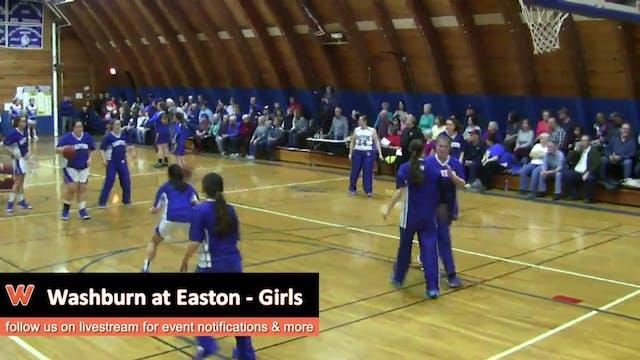 Washburn vs Easton - Girls 2-4-16