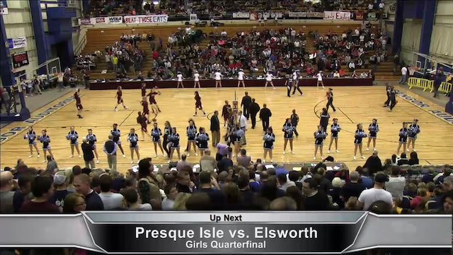 Ellsworth vs Presque Isle Girls and Medomak vs. Camden Boys Part 1