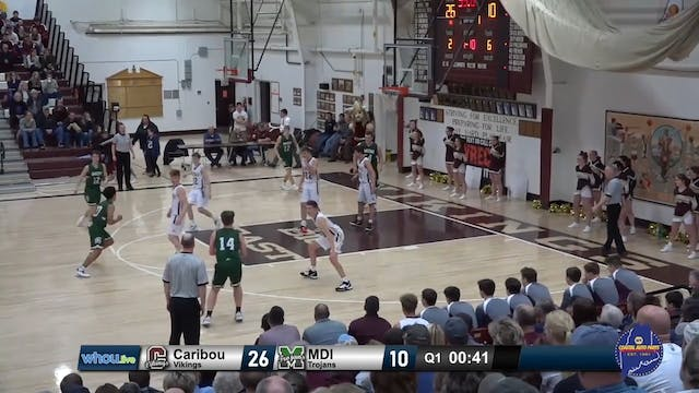 Recap: MDI Boys at Caribou 12/28/19