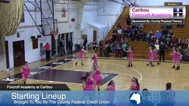 Foxroft Academy v Caribou Girls 12-13-14