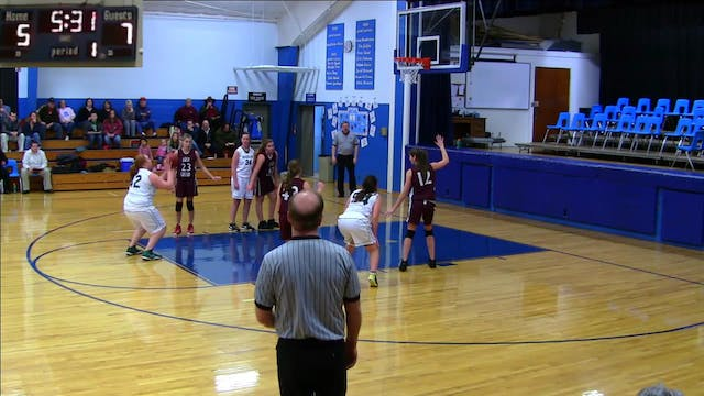 East Grand vs. GHCA Girls 12/22/2012