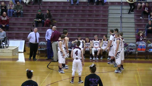Houlton at Ellsworth Boys game