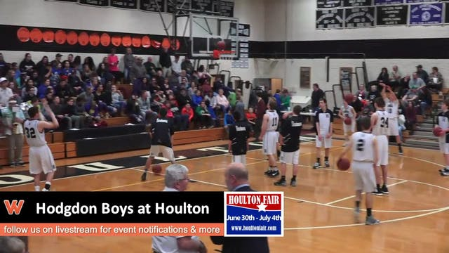 Hodgdon Boys at Houlton 1-8-18