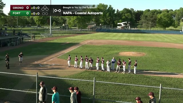 Fort Kent vs. Orono - Class C Basebal...