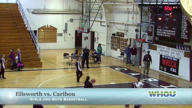 Ellsworth vs Caribou Girls 1-25-14