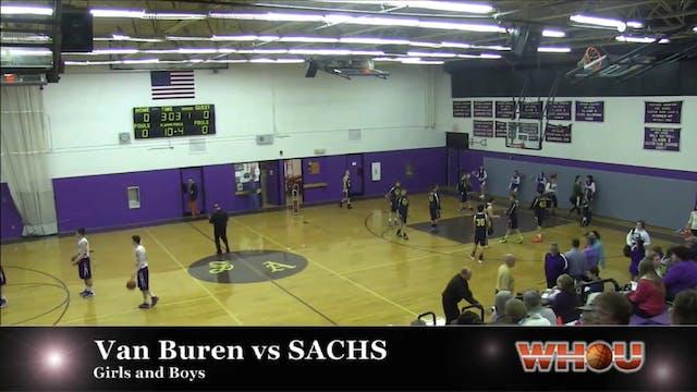 Van Buren vs SACHS Boys 1-20-14