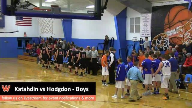 Katahdin at Hodgdon - Boys 12-19-15