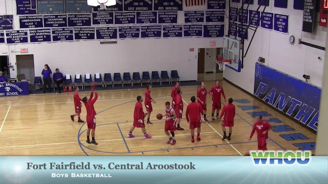 Fort Fairfield vs CAHS Boys 12/28/13