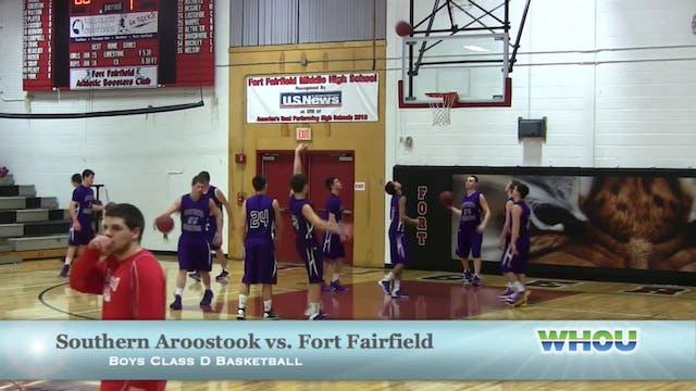 SAHS vs Fort Fairfield Boys 12/23/13
