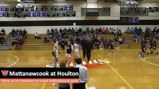 Mattanawcook at Houlton - Girls 12-7-15