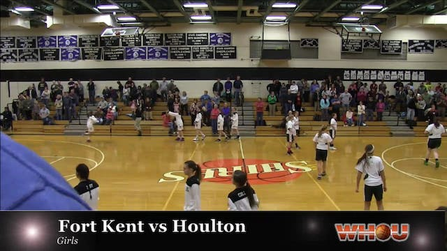 Fort Kent vs Houlton Girls 1-7-14