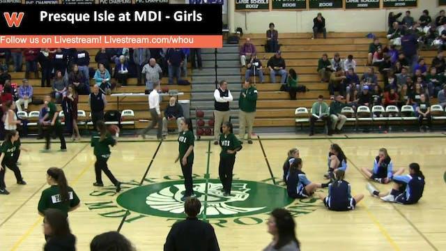 Presque Isle at MDI - Girls 1-22-16