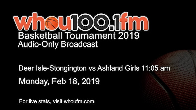 Deer Isle-Stongington vs Ashland Girls 2/18/19