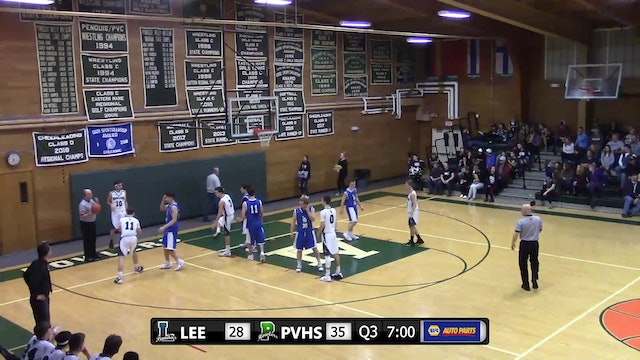 Lee Academy at PVHS - Boys - December 15, 2018