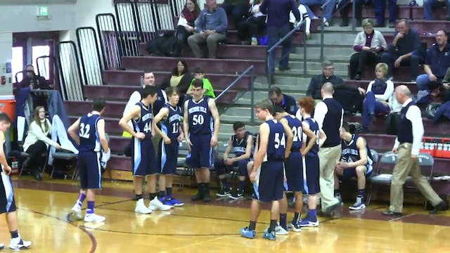 Presque Isle Boys at Ellsworth 12-31-16