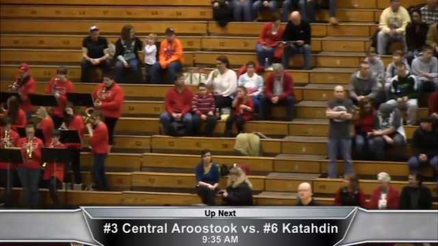 CAHS vs Katahdin Quarter-final
