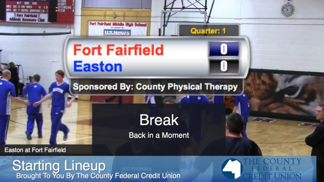 Easton v Fort Fairfield Boys 2014