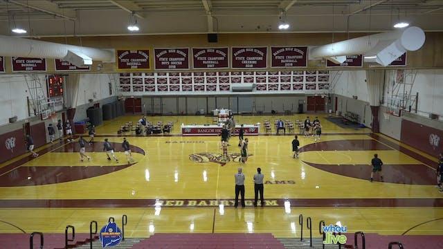Old Town at Bangor Boys Basketball JV...