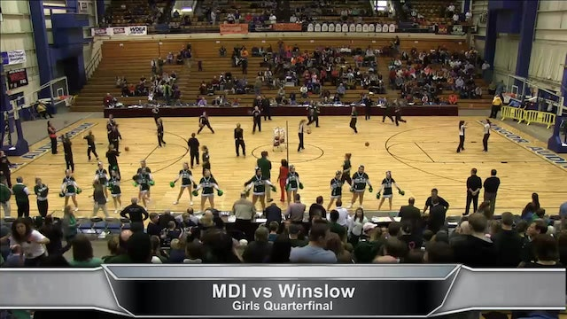 MDI vs Winslow Girls 2-16-13