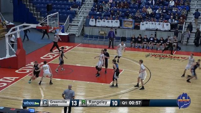 #25 Class D Boys - South Semi-Finals Greenville v Rangeley - 2/19/20