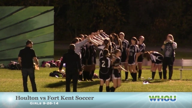 Girls Soccer Houlton v Fort Kent 9-26-2014