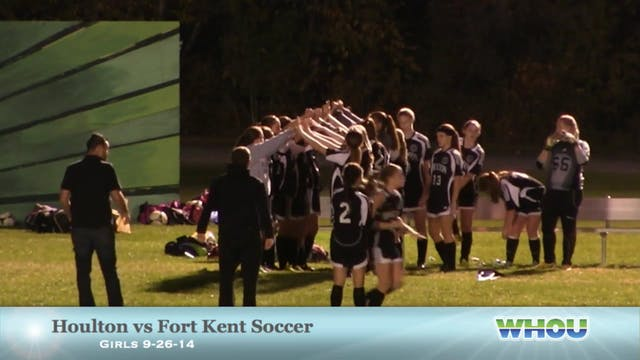 Girls Soccer Houlton v Fort Kent 9-26...
