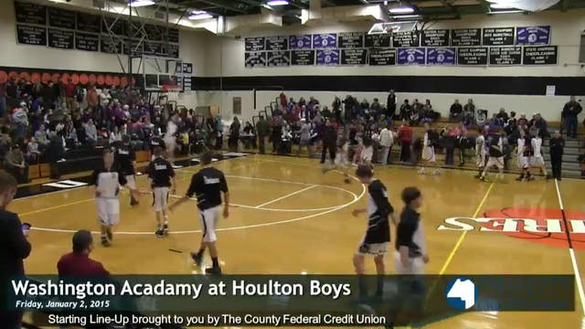 Washington Academy vs Houlton Boys 1-...