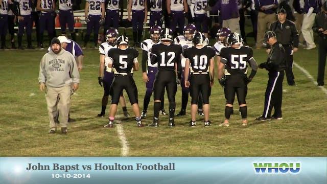 John Bapst Boys v Houlton 10-10-14