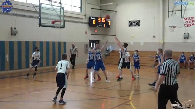 CA at PIMS Boys MS Basketball 4-12-21