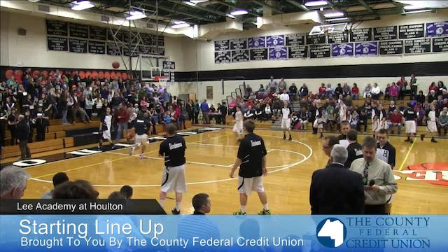 Lee Academy v Houlton Boys 12-19-14