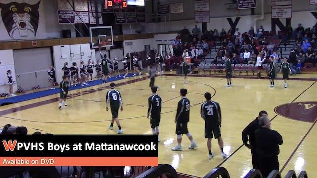 PVHS Boys at Mattanawcook 1-31-18