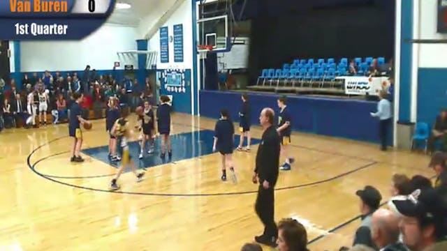 Hodgdon v Van Buren Boys Basketball