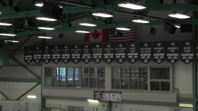 Carleton North vs École Marie-Esther 3-22-14 NBIAA Hockey Semi-Final