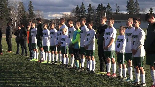 2017 Class C North Boys Soccer Semifinal #5 Houlton @ #1 Fort Kent