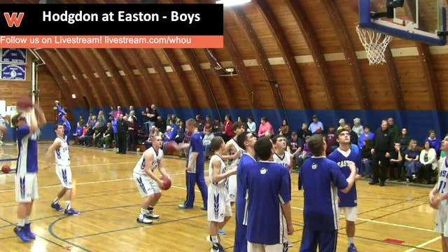 Hodgdon at Easton - Boys 1-18-16